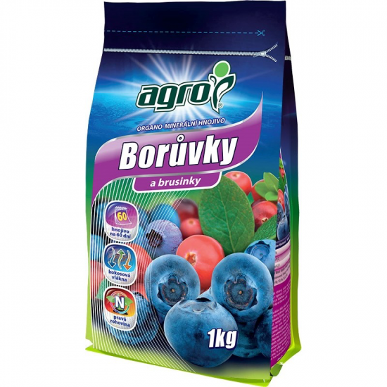 AGRO OM Borůvka a brusinka 1kg-3148