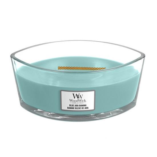 Aromatická svíčka loď, WoodWick Blue Java Banana, hoření až 40 hod-4706