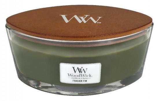 Aromatická svíčka loď, WoodWick Frasier Fir, hoření až 40 hod-759