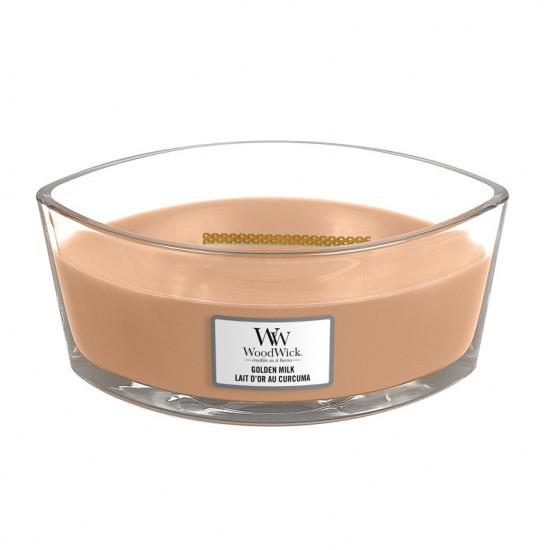 Aromatická svíčka loď, WoodWick Golden Milk, hoření až 40 hod-825