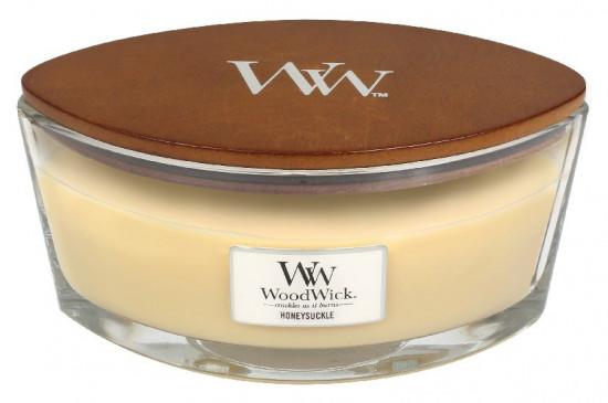 Aromatická svíčka loď, WoodWick Honeysuckle, hoření až 40 hod-67