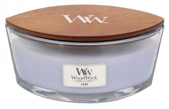 Aromatická svíčka loď, WoodWick Lilac, hoření až 40 hod-572
