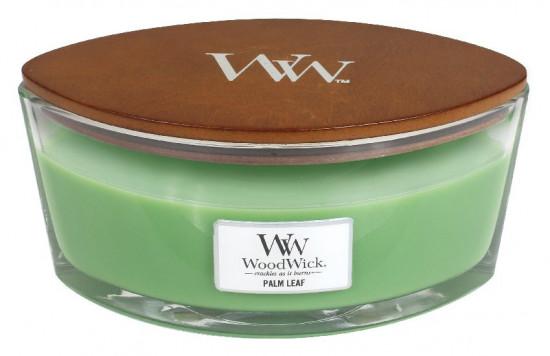 Aromatická svíčka loď, WoodWick Palm Leaf, hoření až 40 hod