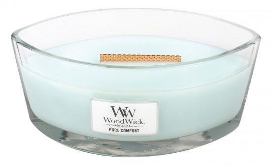 Aromatická svíčka loď, WoodWick Pure Comfort, hoření až 40 hod-1173