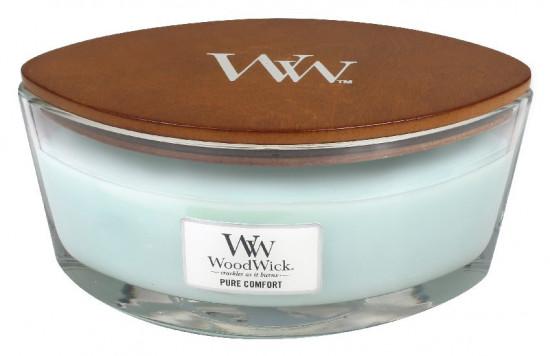 Aromatická svíčka loď, WoodWick Pure Comfort, hoření až 40 hod-943