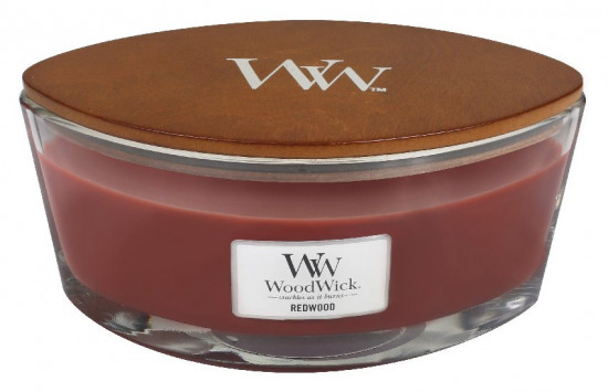 Aromatická svíčka loď, WoodWick Redwood, hoření až 40 hod-1108
