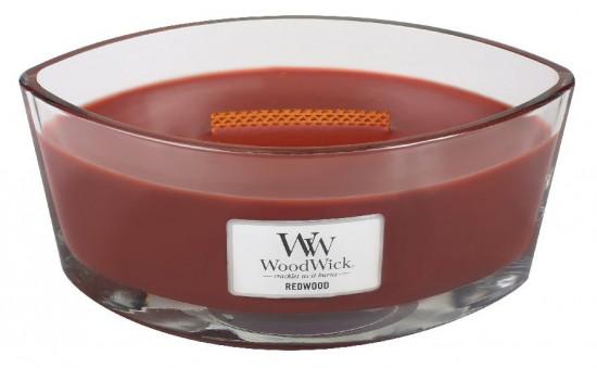 Aromatická svíčka loď, WoodWick Redwood, hoření až 40 hod-40