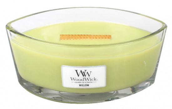 Aromatická svíčka loď, WoodWick Willow, hoření až 40 hod-789