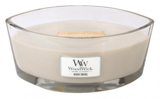 Aromatická svíčka loď, WoodWick Wood Smoke, hoření až 40 hod-568