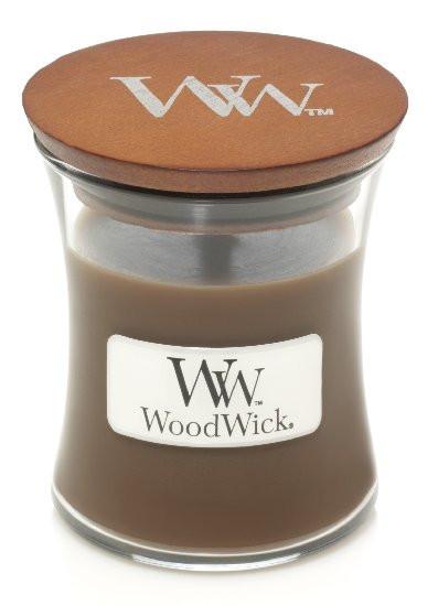 Aromatická svíčka váza, WoodWick Amber & Incense, hoření až 30 hod