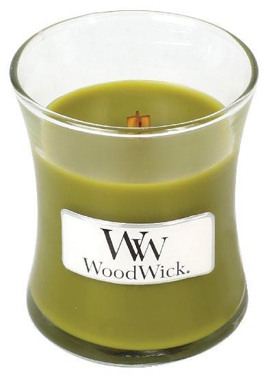 Aromatická svíčka váza, WoodWick Apple Basket, hoření až 30 hod-401