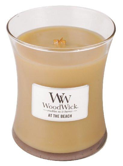 Aromatická svíčka váza, WoodWick At the Beach, hoření až 65 hod-774