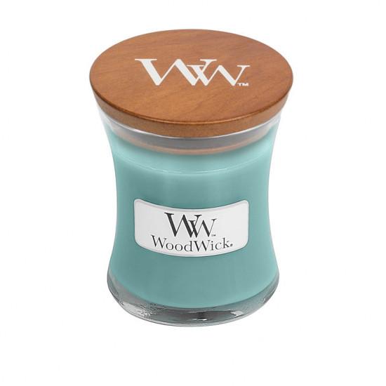 Aromatická svíčka váza, WoodWick Blue Java Banana, hoření až 30 hod-4726