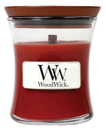 Aromatická svíčka váza, WoodWick Cinnamon Chai, hoření až 30 hod-358