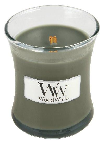 Aromatická svíčka váza, WoodWick Evening Bonfire, hoření až 30 hod