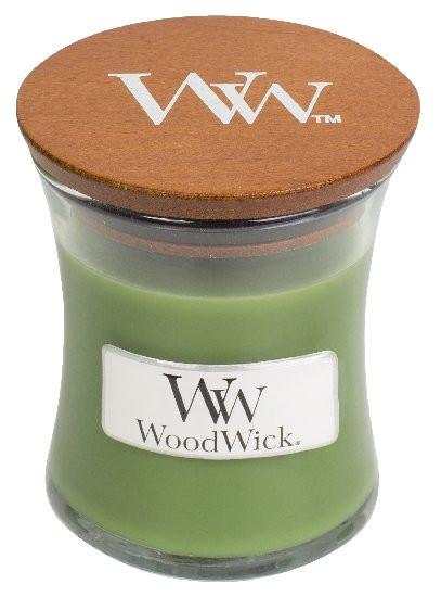Aromatická svíčka váza, WoodWick Evergreen, hoření až 30 hod-968