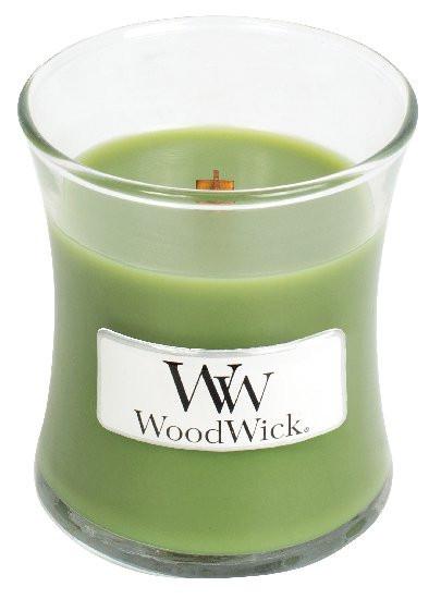 Aromatická svíčka váza, WoodWick Evergreen, hoření až 30 hod-971
