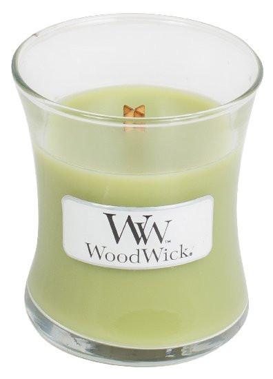 Aromatická svíčka váza, WoodWick Fern, hoření až 30 hod