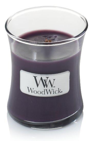 Aromatická svíčka váza, WoodWick Fig, hoření až 30 hod