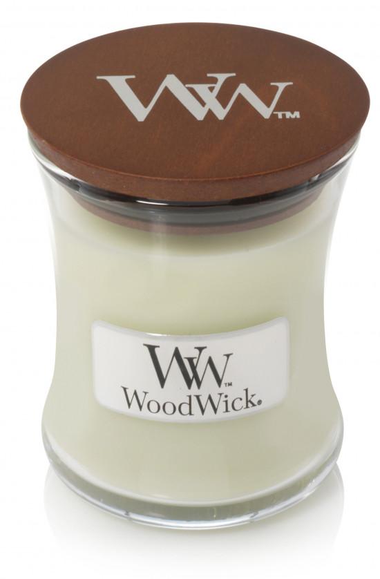 Aromatická svíčka váza, WoodWick Fig Leaf & Tuberose, hoření až 30 hod-983