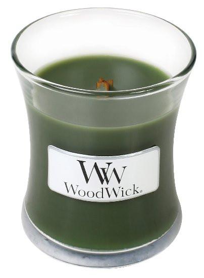 Aromatická svíčka váza, WoodWick Frasier Fir, hoření až 30 hod