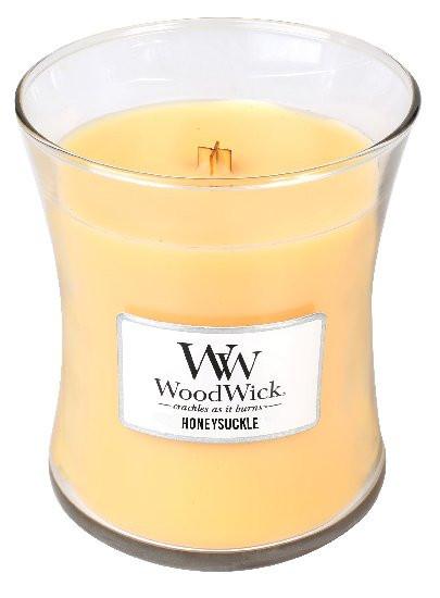 Aromatická svíčka váza, WoodWick Honeysuckle, hoření až 65 hod-269
