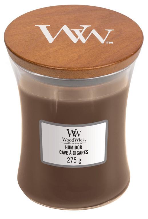 Aromatická svíčka váza, WoodWick Humidor, hoření až 65 hod-797
