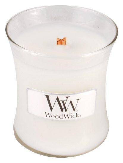 Aromatická svíčka váza, WoodWick Island Coconut, hoření až 30 hod-380