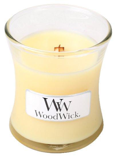 Aromatická svíčka váza, WoodWick Lemongrass & Lily, hoření až 30 hod-1207