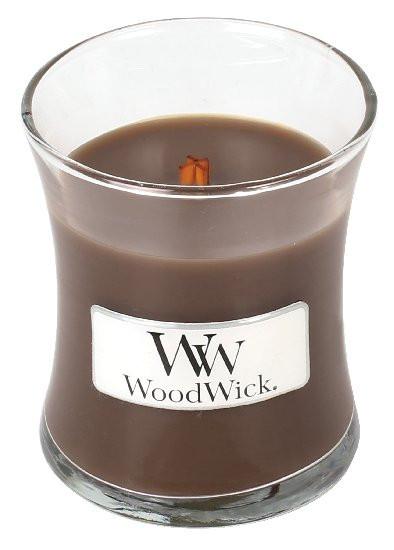 Aromatická svíčka váza, WoodWick Oudwood, hoření až 30 hod-461
