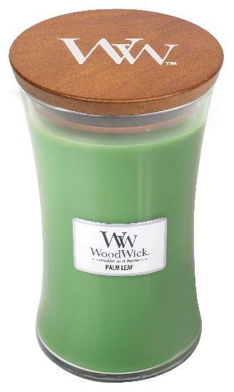 Aromatická svíčka váza, WoodWick Palm Leaf, hoření až 120 hod-852