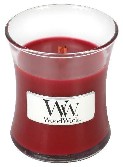 Aromatická svíčka váza, WoodWick Pomegranate, hoření až 30 hod-757