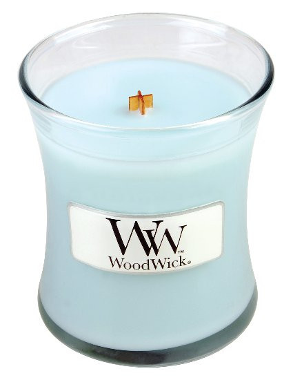 Aromatická svíčka váza, WoodWick Pure Comfort, hoření až 30 hod