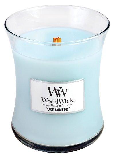 Aromatická svíčka váza, WoodWick Pure Comfort, hoření až 65 hod-1137