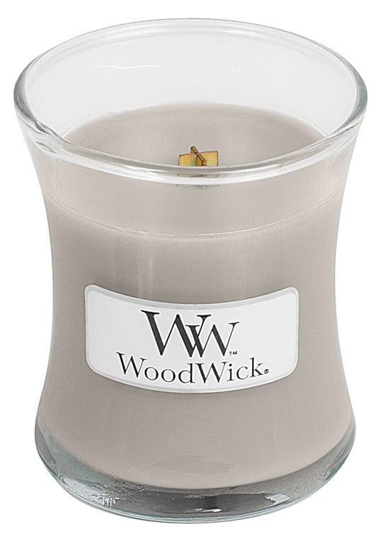Aromatická svíčka váza, WoodWick Sacred Smoke, hoření až 30 hod-793