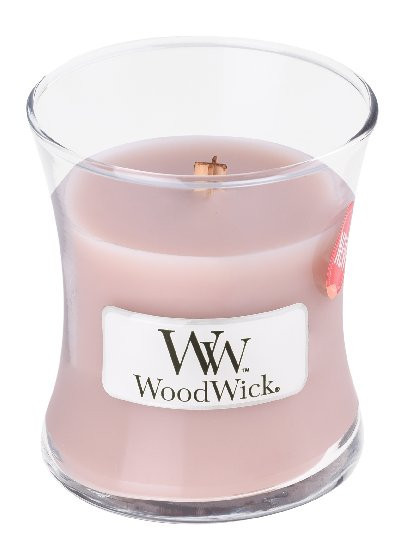 Aromatická svíčka váza, WoodWick Sea Salt Vanilla, hoření až 30 hod-777