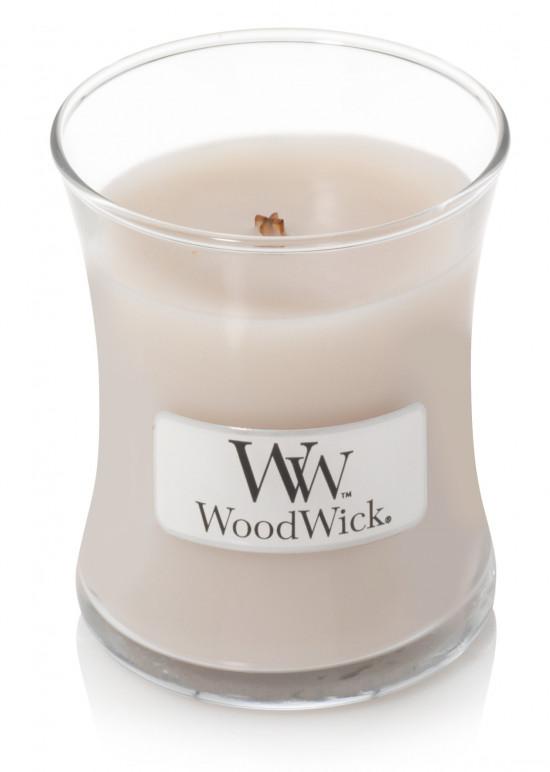 Aromatická svíčka váza, WoodWick Smoked Jasmine, hoření až 30 hod-569