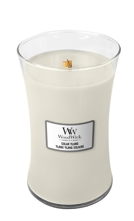 Aromatická svíčka váza, WoodWick Solar Ylang, hoření až 120 hod-1111