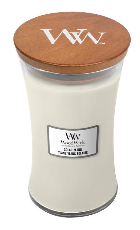 Aromatická svíčka váza, WoodWick Solar Ylang, hoření až 120 hod-842