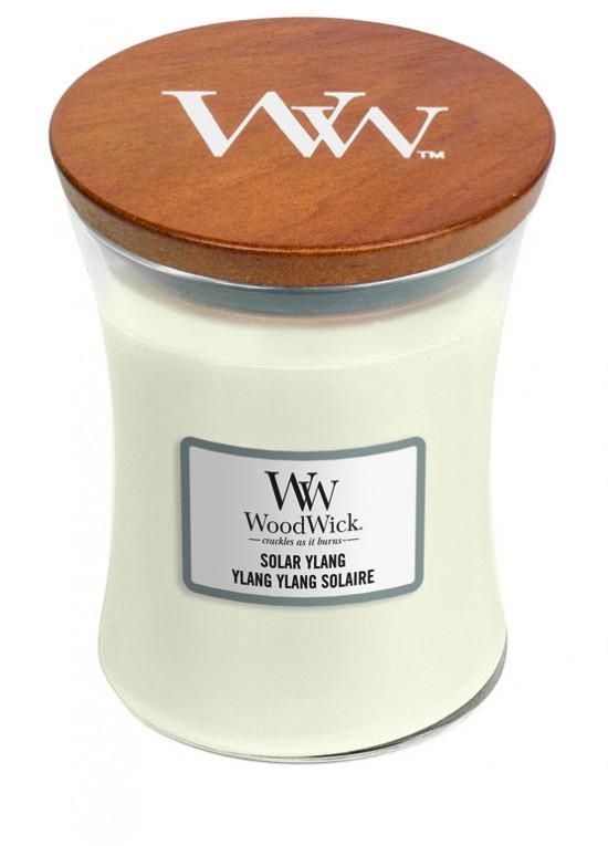 Aromatická svíčka váza, WoodWick Solar Ylang, hoření až 65 hod-1117