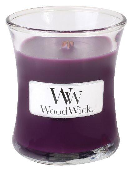 Aromatická svíčka váza, WoodWick Spiced Blackberry, hoření až 30 hod-746