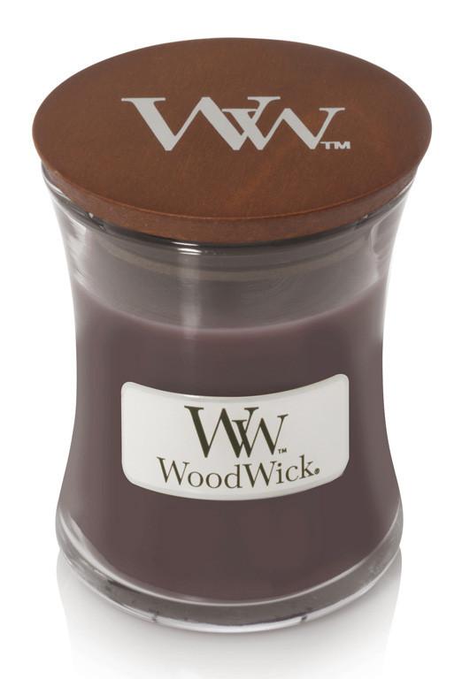 Aromatická svíčka váza, WoodWick Sueded Sandalwood, hoření až 30 hod-195