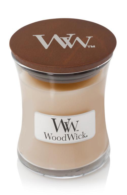Aromatická svíčka váza, WoodWick White Honey, hoření až 30 hod