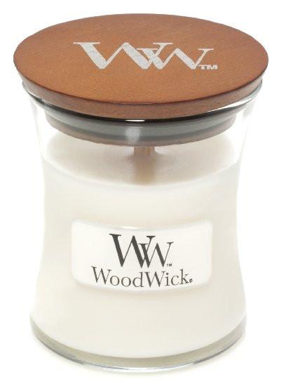 Aromatická svíčka váza, WoodWick White Teak, hoření až 30 hod-48