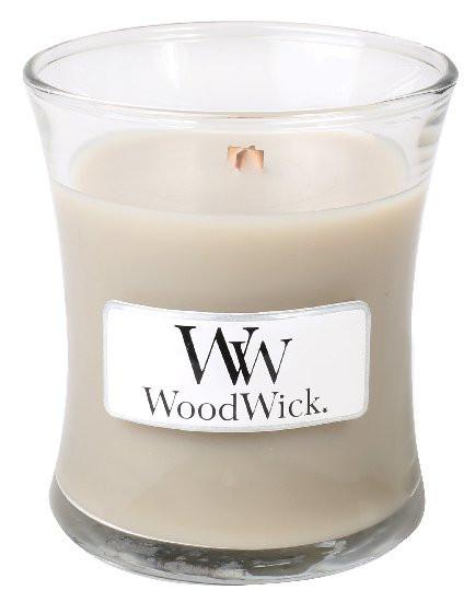 Aromatická svíčka váza, WoodWick Wood Smoke, hoření až 30 hod