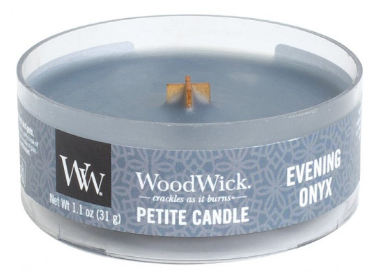 Aromatická svíčka, WoodWick Petite Evening Onyx, hoření až 8 hod-914