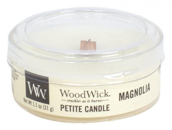 Aromatická svíčka, WoodWick Petite Magnolia, hoření až 8 hod-886