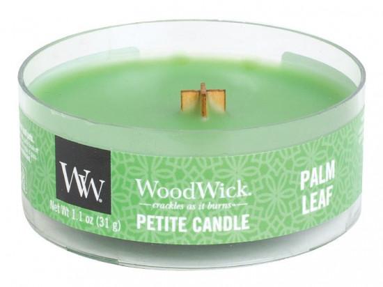 Aromatická svíčka, WoodWick Petite Palm leaf, hoření až 8 hod-1244