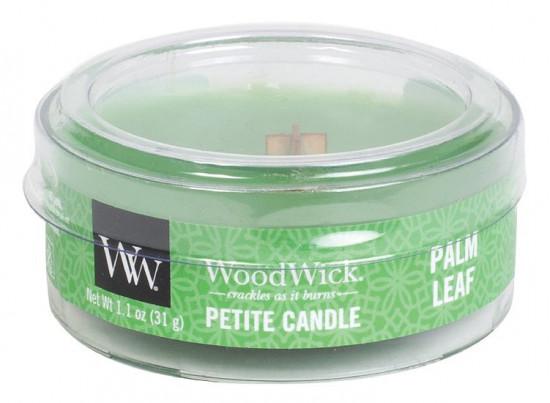 Aromatická svíčka, WoodWick Petite Palm Leaf, hoření až 8 hod