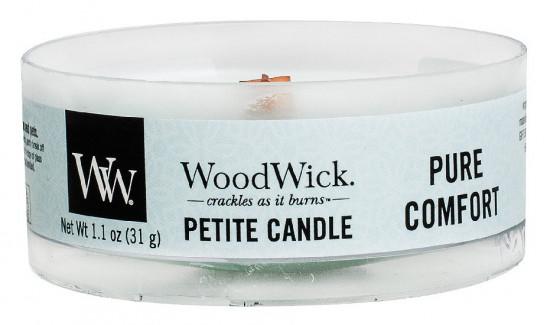 Aromatická svíčka, WoodWick Petite Pure Comfort, hoření až 8 hod-784